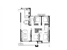 4室2厅2卫二期E户型