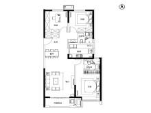 3室2厅2卫132㎡户型
