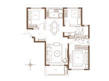 3室2厅2卫A3户型
