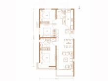 3室2厅1卫A区-109㎡户型