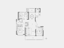 2室2厅2卫20-21#142㎡户型