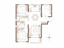 3室2厅2卫A1户型