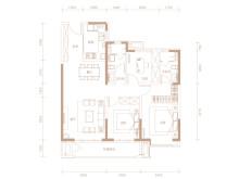 3室2厅2卫A区-2  126㎡户型