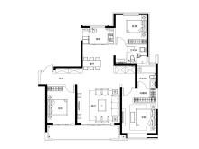 3室2厅2卫156㎡户型
