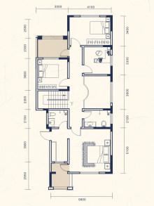 6室2厅4卫下叠A户型