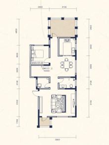 5室2厅4卫上叠D户型