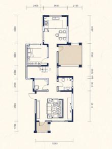 4室2厅4卫上叠E户型