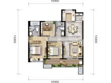 3室2厅2卫120㎡户型