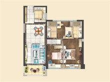 3室2厅2卫114户型
