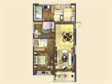 3室2厅2卫123户型