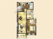 3室2厅2卫120户型