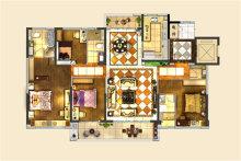 4室2厅3卫183户型
