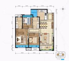 建面约127㎡ 三室两厅两卫